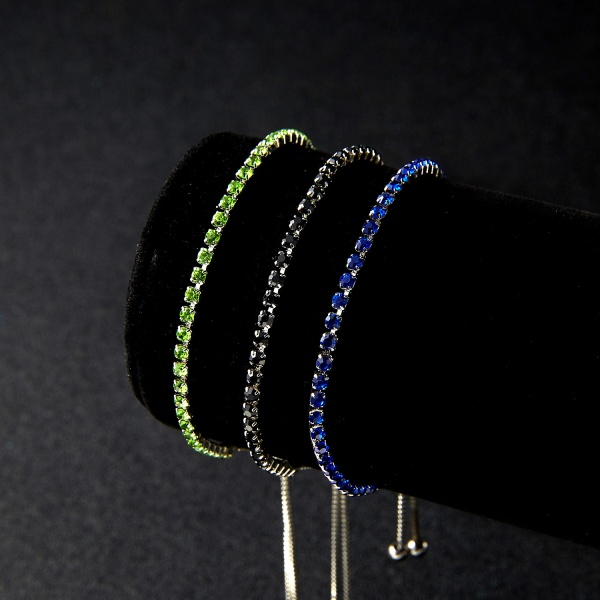 Cristal Color Tennis Bracelet Csomag 2 + 1 Ajándék