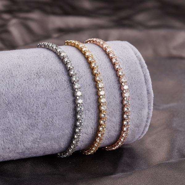 Cristal Tennis Bracelet Csomag 2 + 1 Ajándék