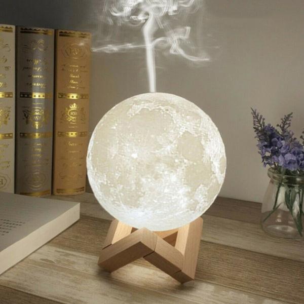 3D Moon Lamp Aromaterápiás Légnedvesítő